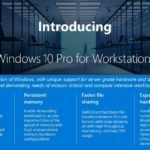 Microsoft、Windows 10 Pro for Workstationsを発表へ