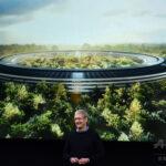 Apple Park、4月から宇宙船型の新社屋へ移転-スティーブ・ジョブズ・シアター