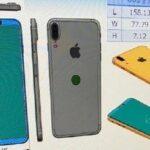iPhone 8の図面がリーク – 背面Touch IDとベゼルレスデザイン