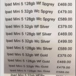 Apple、iPad mini 5を既に準備中か – 小売業者の在庫表から見つかる