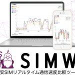格安SIMの速度はどれくいらい??リアルタイムで実速度がわかるサイトがオープン!