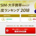 価格.com、格安SIMの満足度ランキングを発表 – 1位はLine Mobile