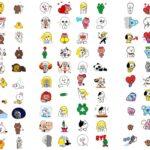 LINE、無料スタンプを120種類追加したことを発表