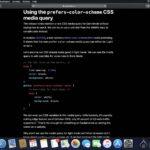 macOS Mojave 10.14.4、SafariがWEBページのダークモードにも対応へ