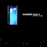 【速報】Huawei、折りたたみ式スマートフォン「Huawei Mate X」を正式発表!-販売価格は約28万円
