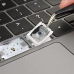 Macbook Pro 16インチ、シザー式キーボードを採用か-バタフライキーボードを廃止へ