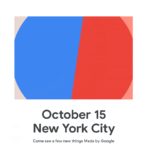 Google、Google Pixcel 4を10月15日に発表か